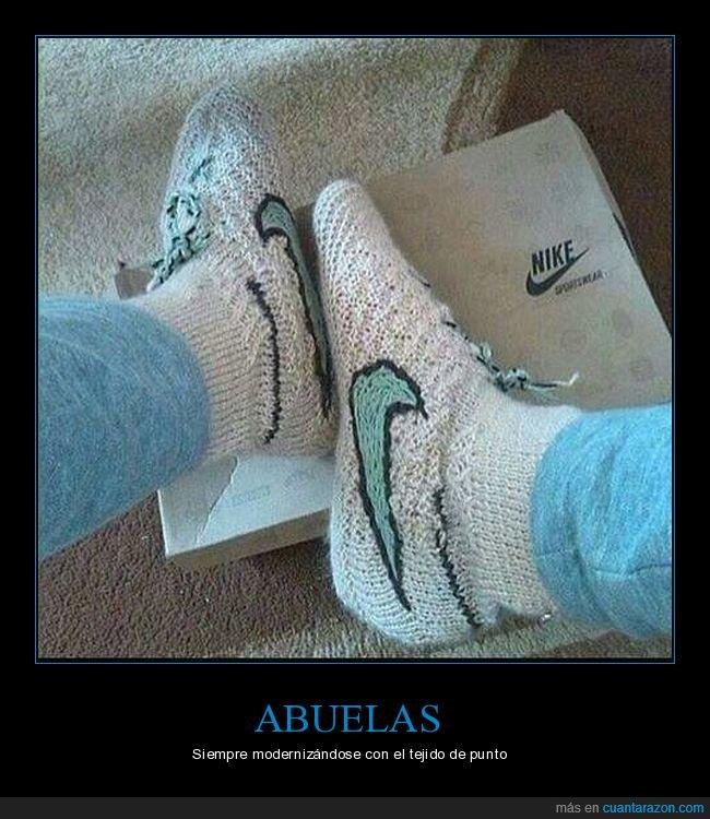abuelas,nike,zapatillas