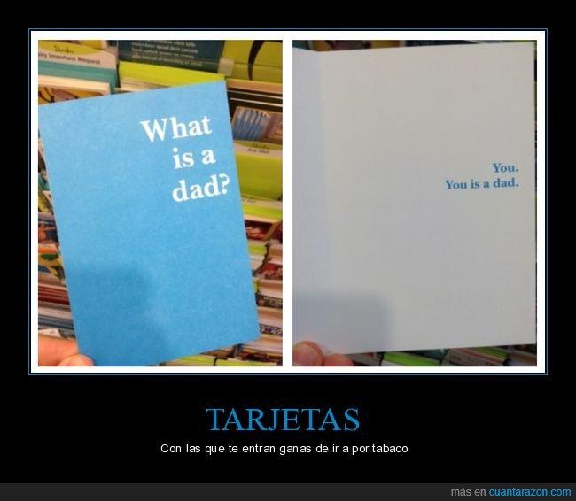 padre,tarjeta,wtf
