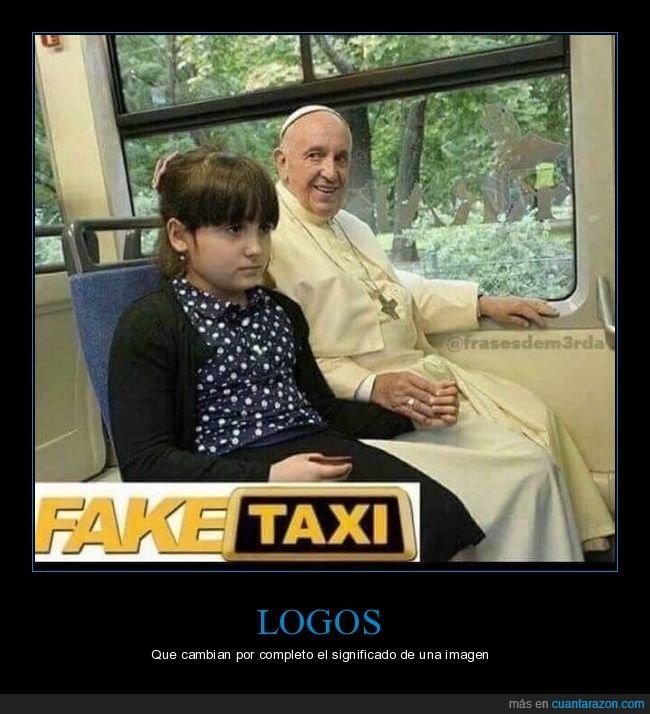 fake taxi,niña,papa