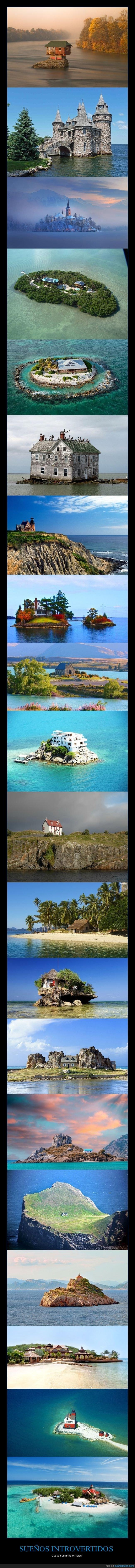 casas,islas,solitarias