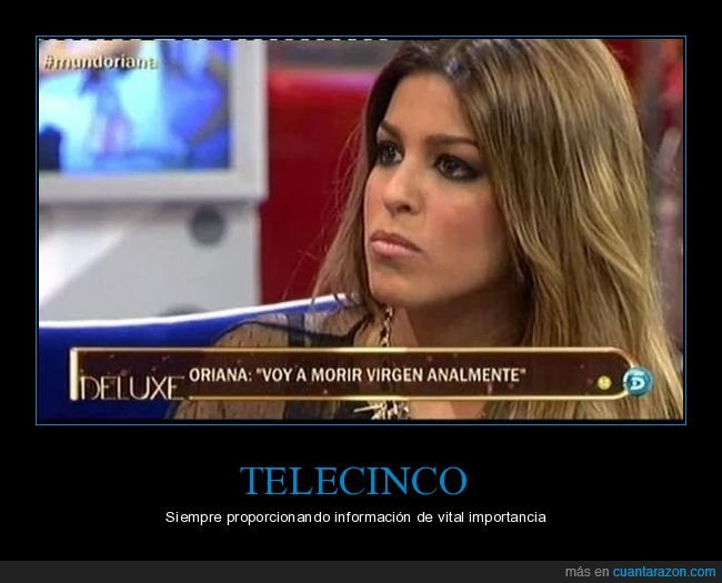 analmente,telecinco,virgen