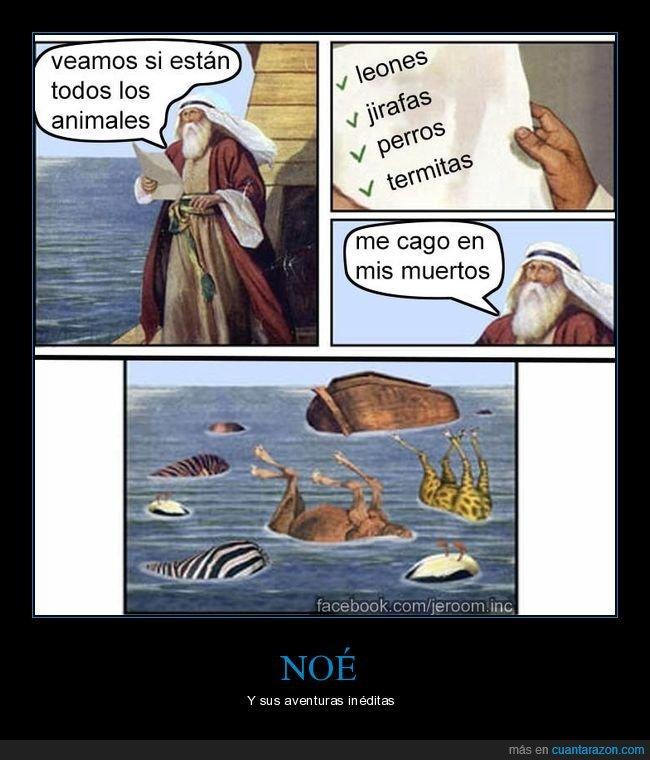 animales,arca,noé,termitas