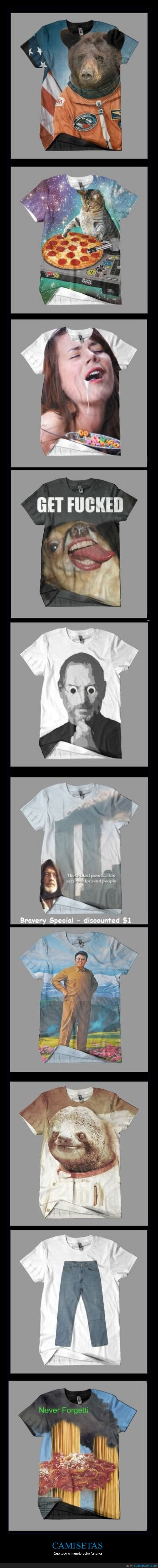 camisetas,colección,wtf