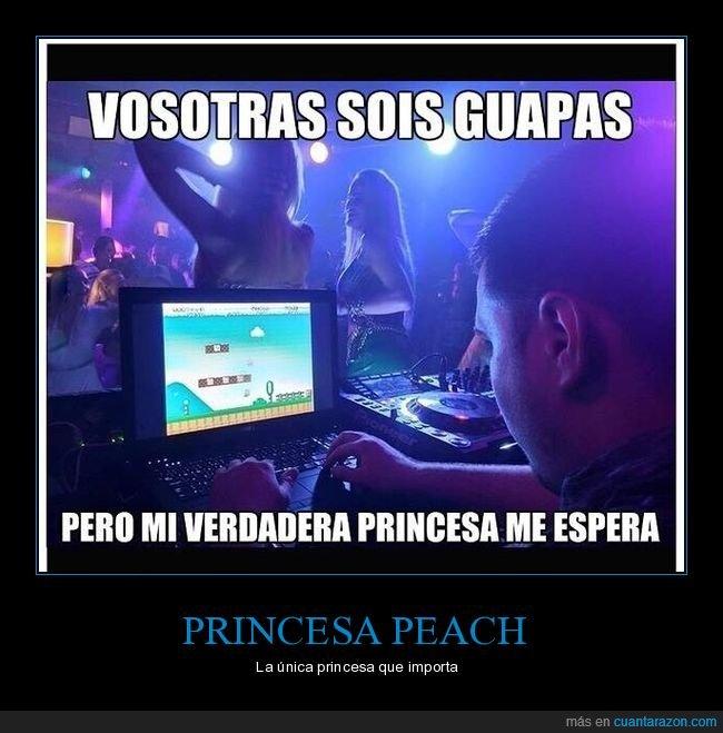 discoteca,dj,mario,peach,princesa