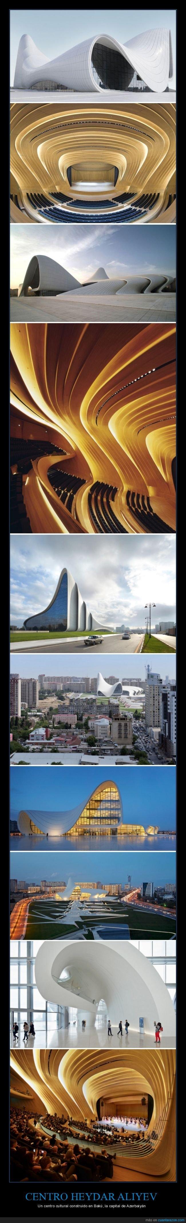 arquitectura,azerbaiyán,centro cultural,heydar aliyev
