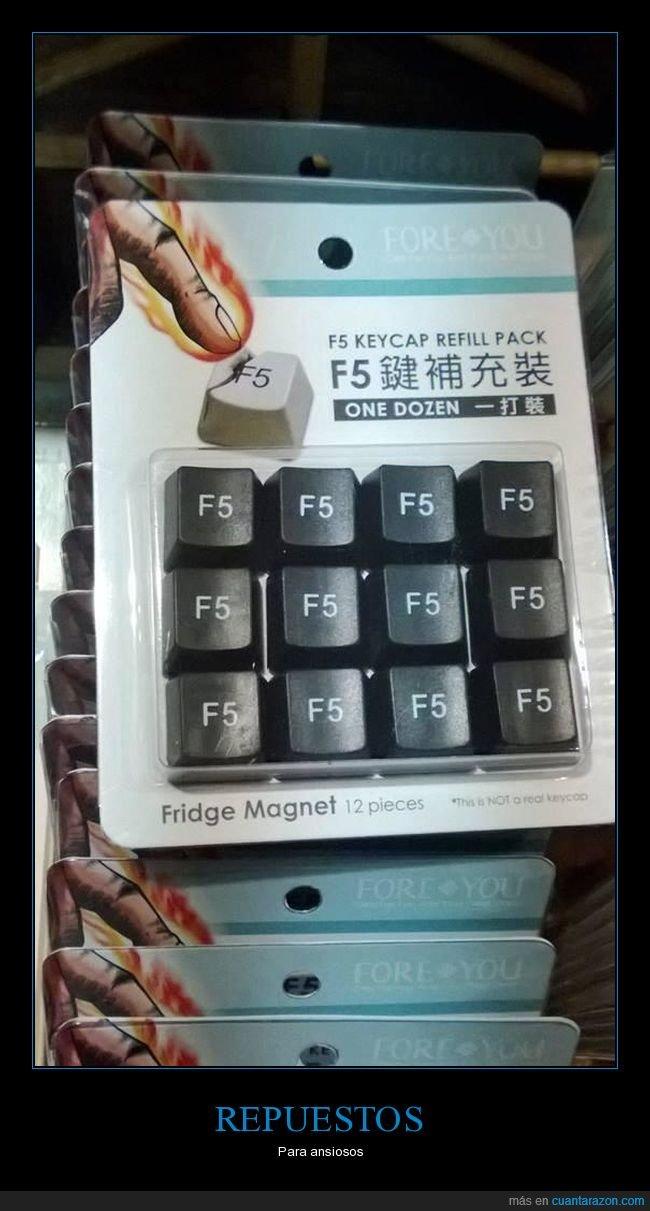 f5,repuestos,teclado,teclas