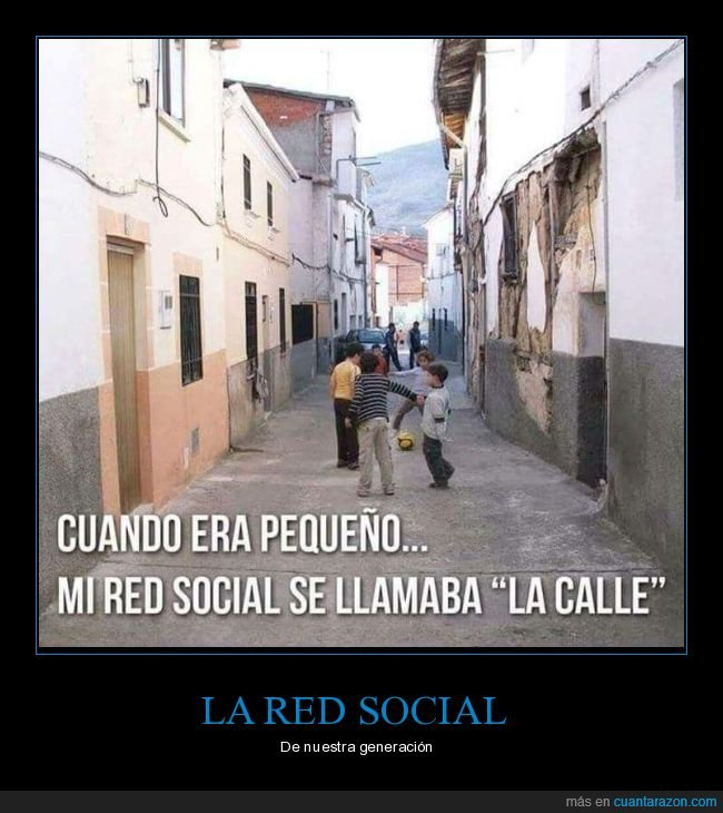 calle,pequeño,red social
