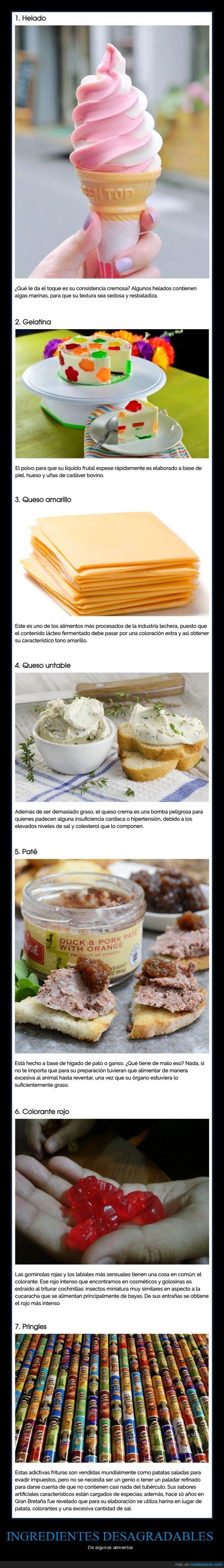 alimentos,curiosidades,ingredientes