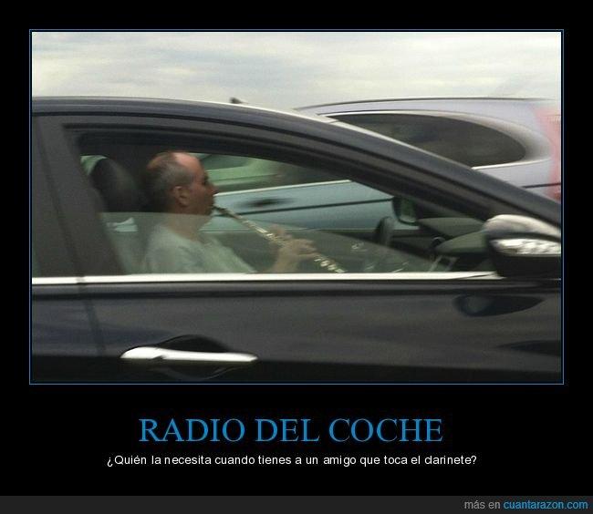 clarinete,coche,wtf