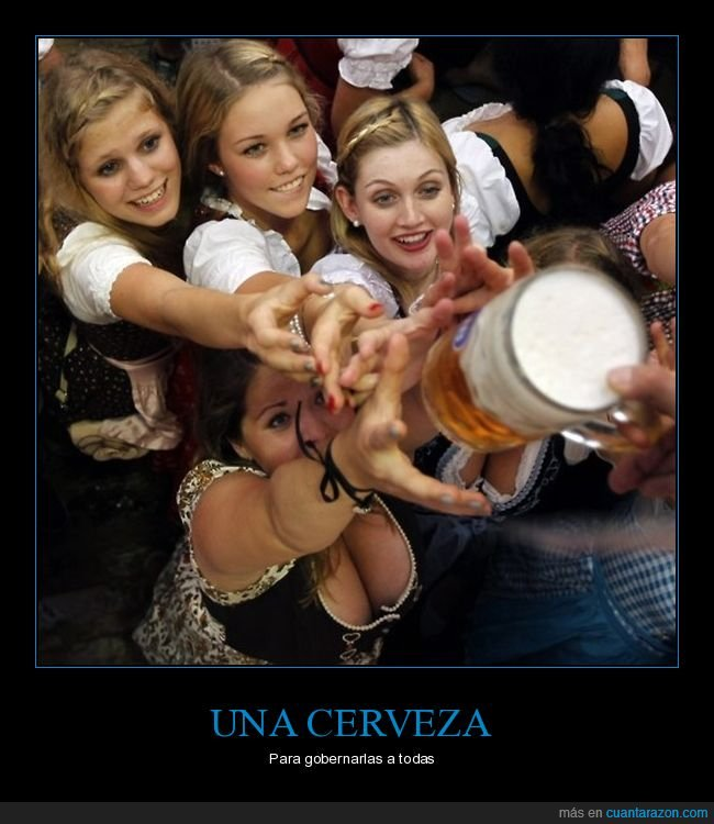 cerveza,chicas