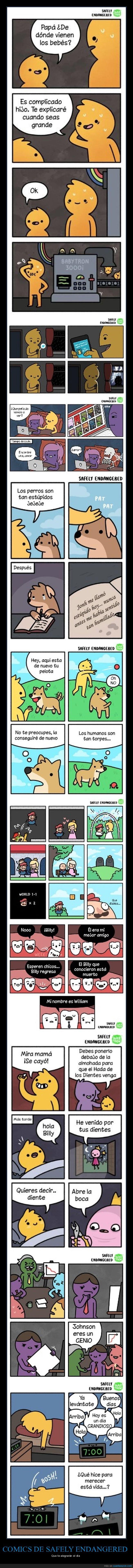 cómics,safely endangered