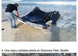 Enlace a Cosas extrañas que se han encontrado en las playas