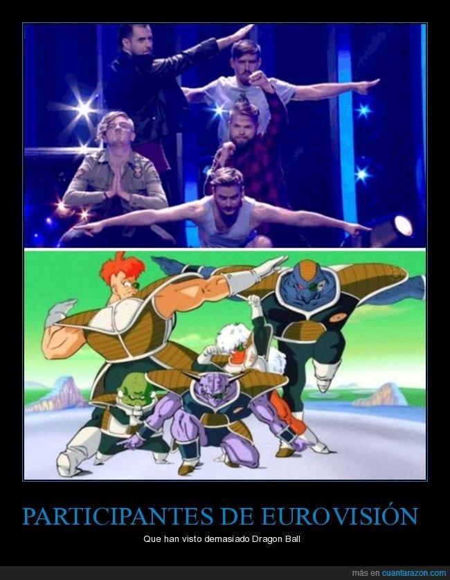 dragon ball,eurovisión,formación ginyu,fuerzas especiales