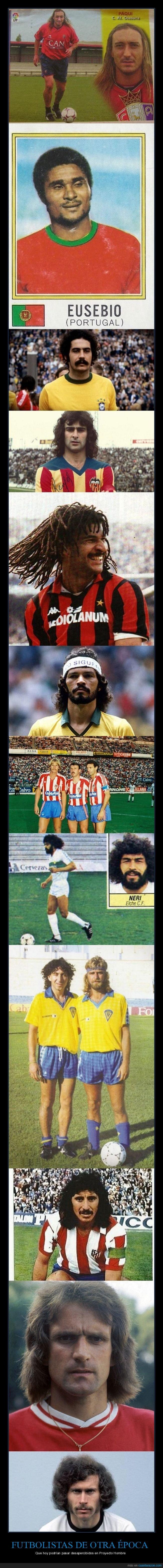 futbolistas,proyecto hombre,retro