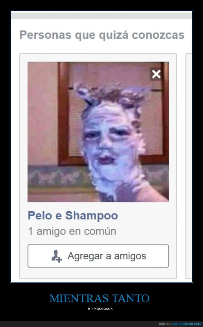 champú,facebook,jabón,wtf