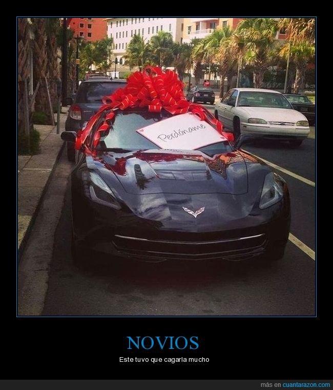 coche,novia,perdonar
