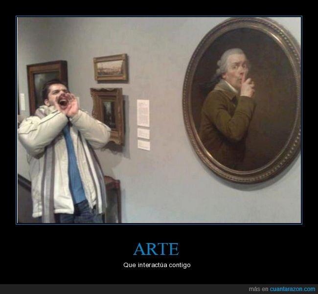 arte,cuadro,gritando,silencio
