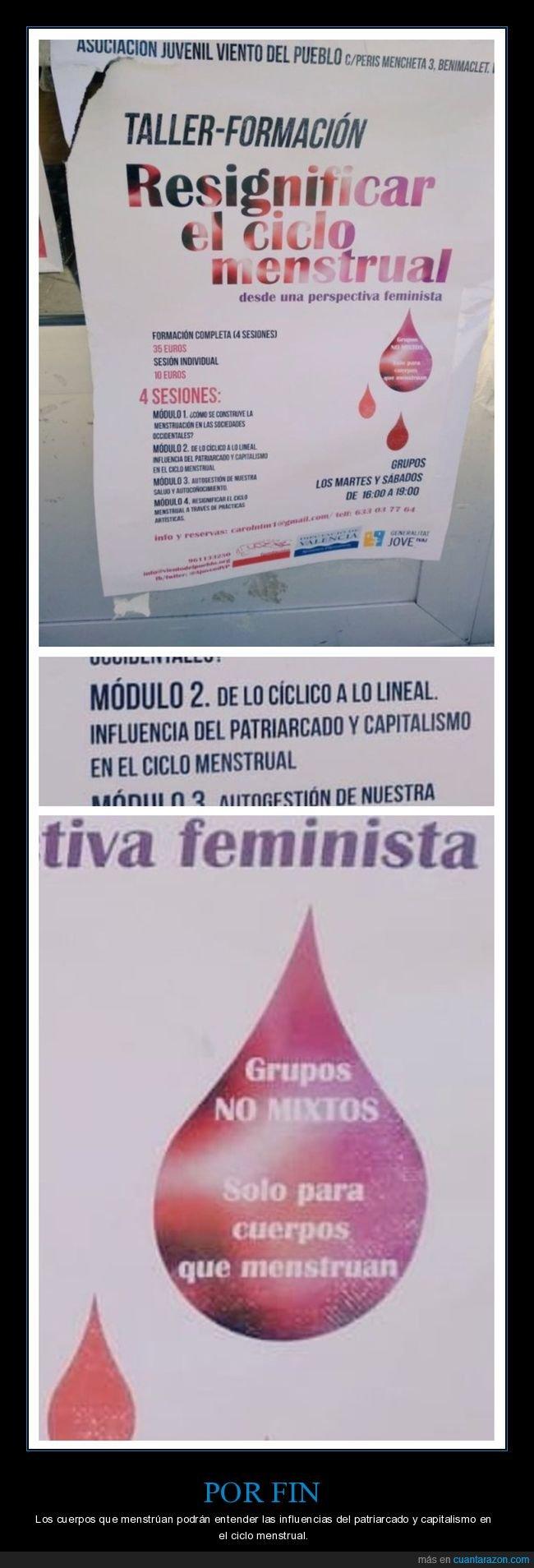 capitalismo,ciclo menstrual,patriarcado,regla,wtf