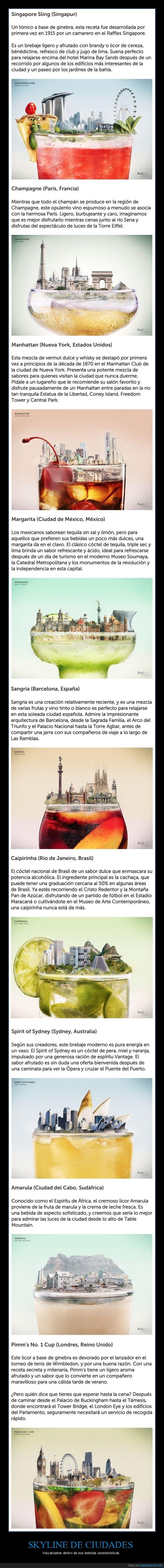 bebidas,ciudades,skyline