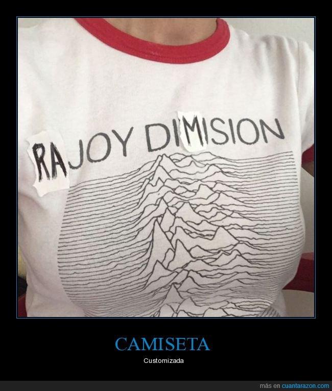 camiseta,dimisión,joy division,políticos,rajy