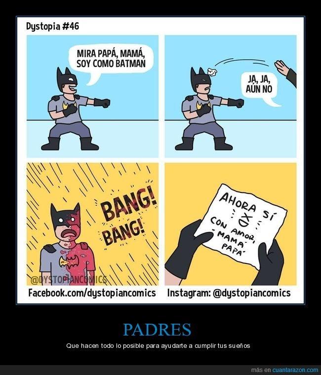 batman,muertos,padres