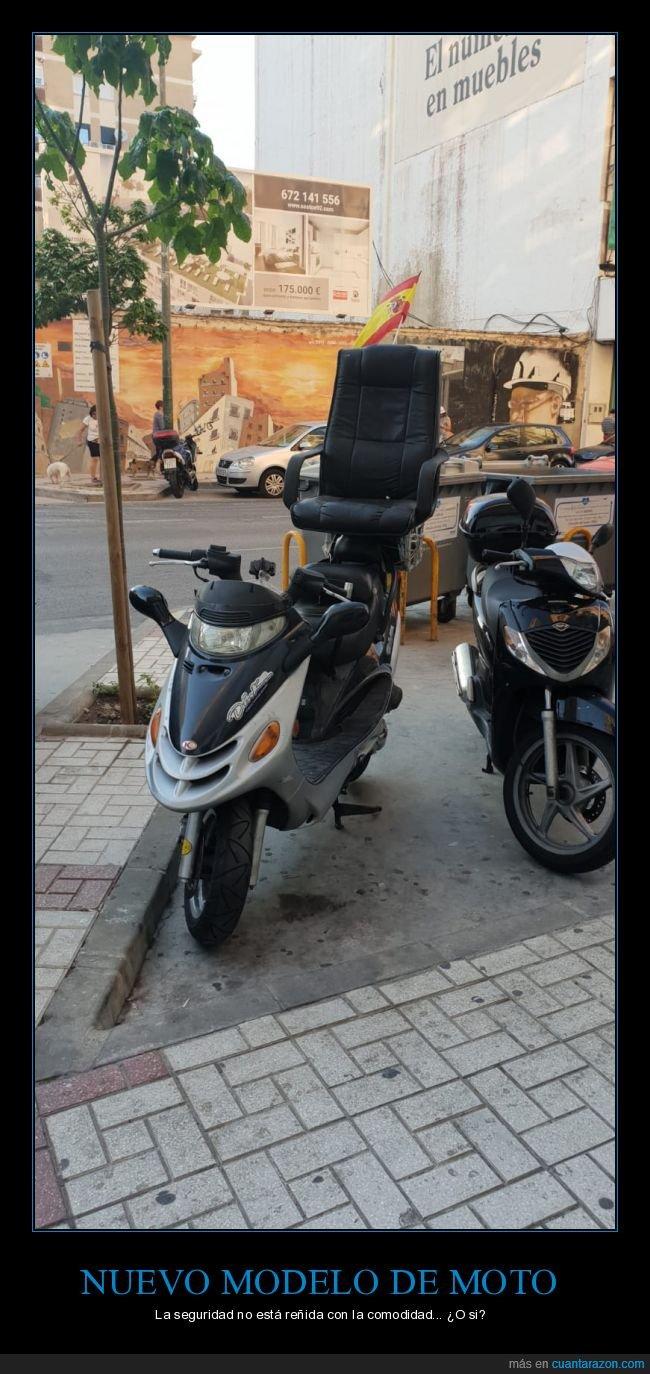 comodidad,moto,silla,wtf