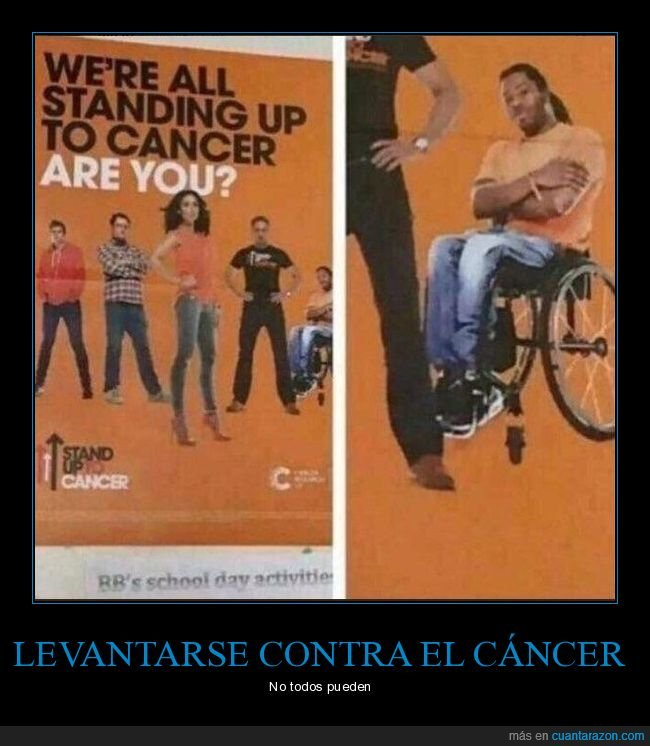 cáncer,fails,levantarse,silla de ruedas