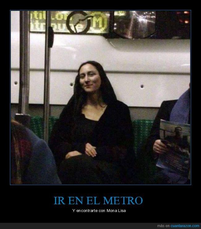 metro,mona lisa,parecidos