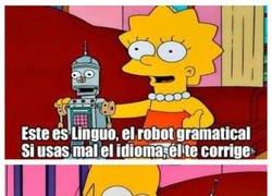 Enlace a Linguo, el robot gramatical