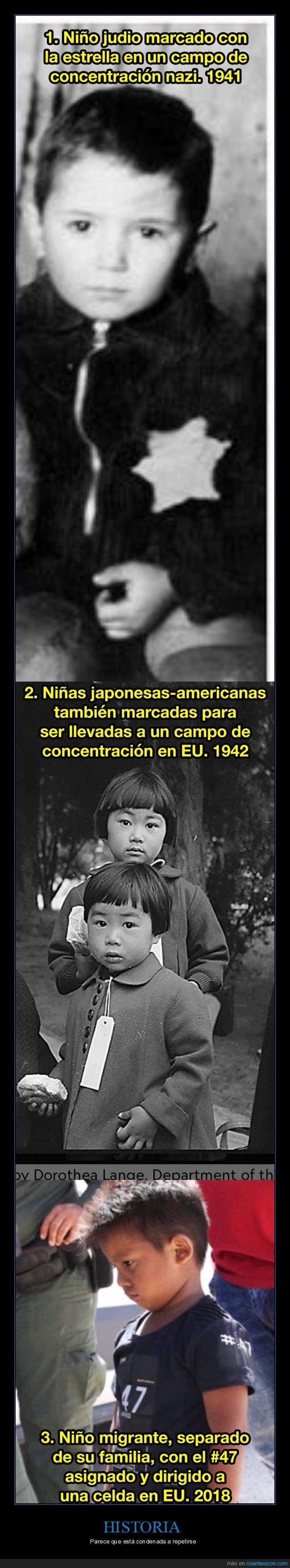 campo de concentración,ii guerra mundial,japoneses,judío,migrantes,niños