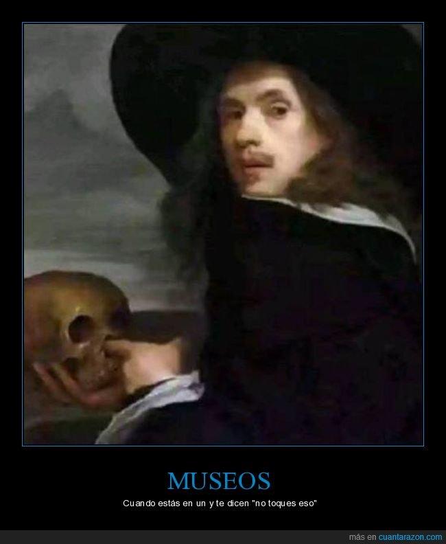 museo,no tocar,tocando