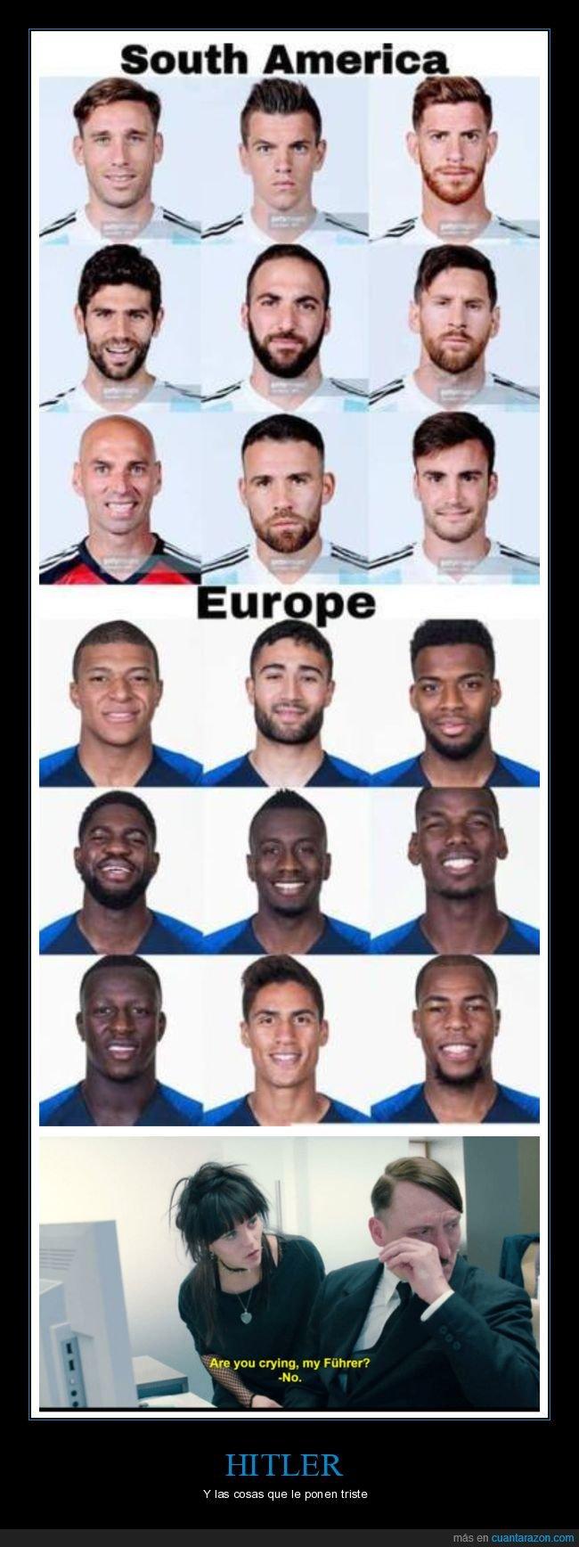 europa,futbolistas,hitler,sudamérca