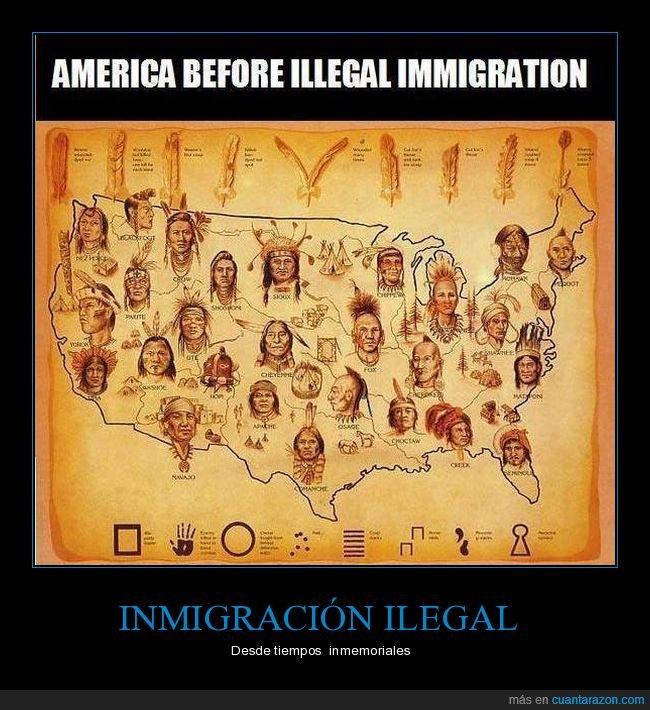 américa,eeuu,indios,inmigración,invasores