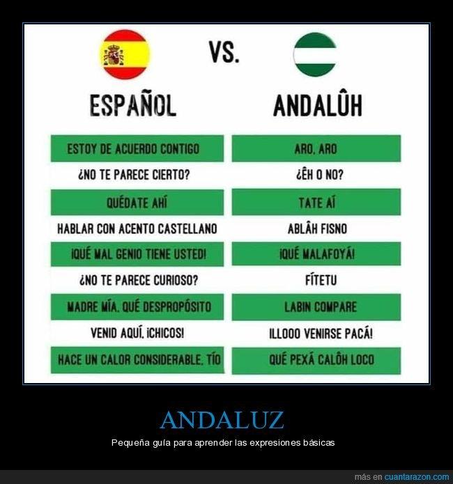 andaluz,español,expresiones,traducción