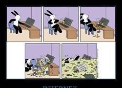 Enlace a Últimamente, cuando entras en internet...
