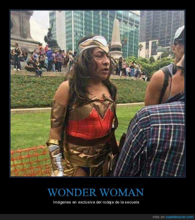 disfraz,wonder woman,wtf