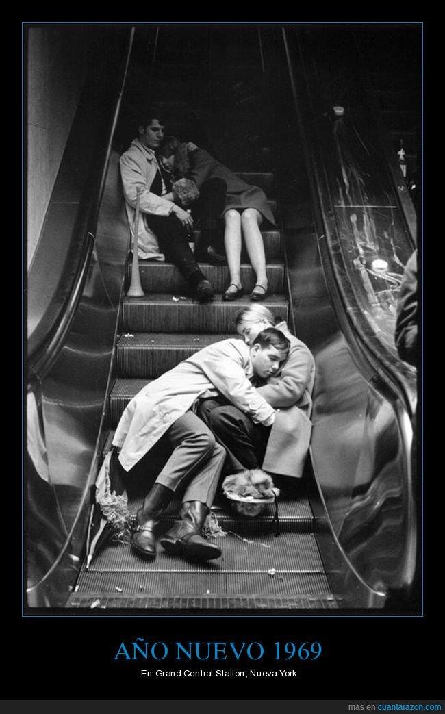 1969,año nuevo,nueva york,retro