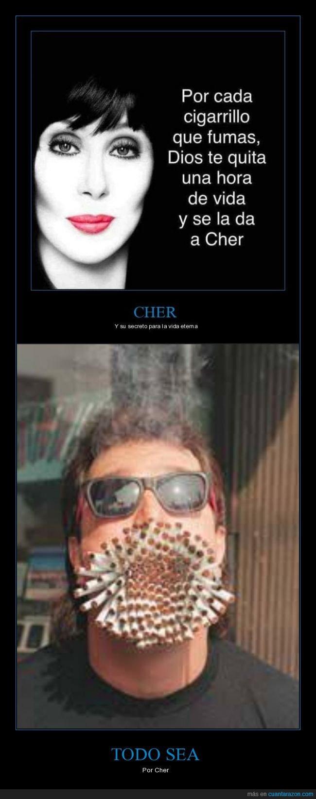 cher,cigarros,fumar,tabaco