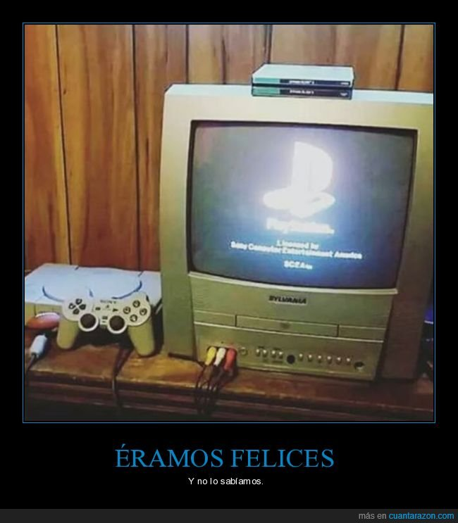 felices,playstation,recuerdos