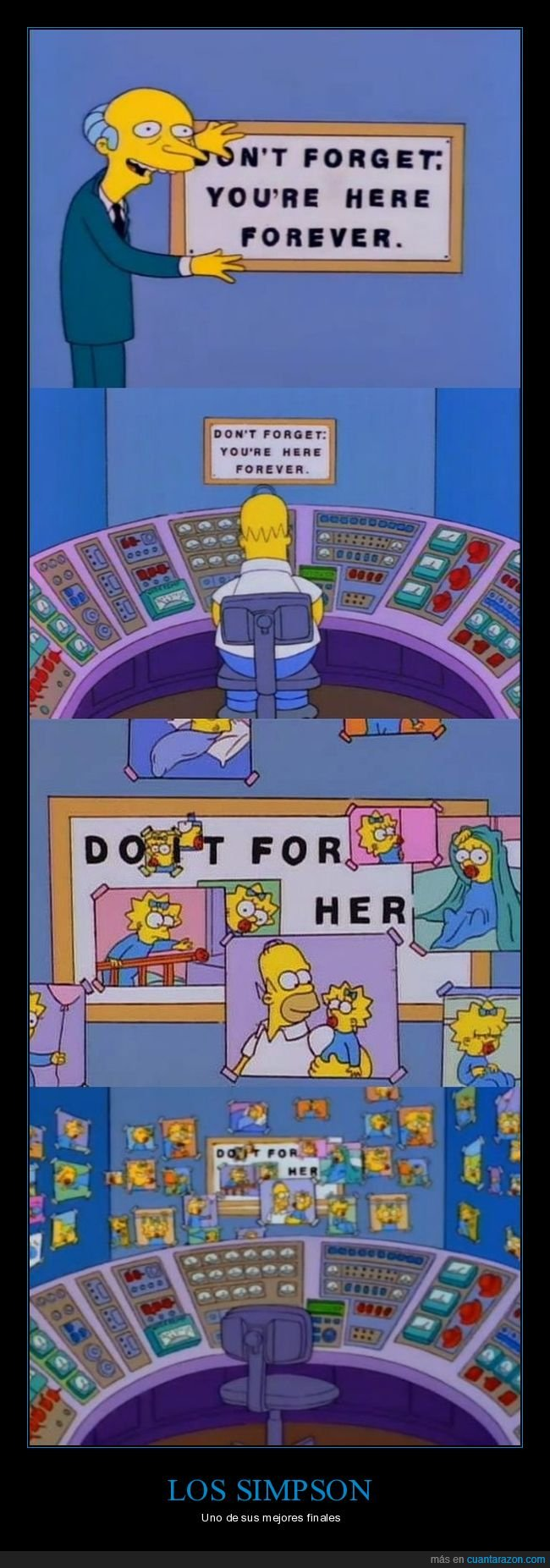 do it for her,homer,maggie,simpsons