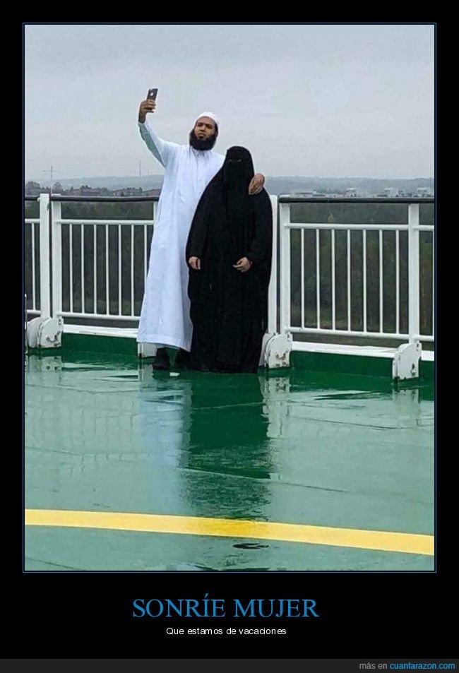 burka,selfie,wtf