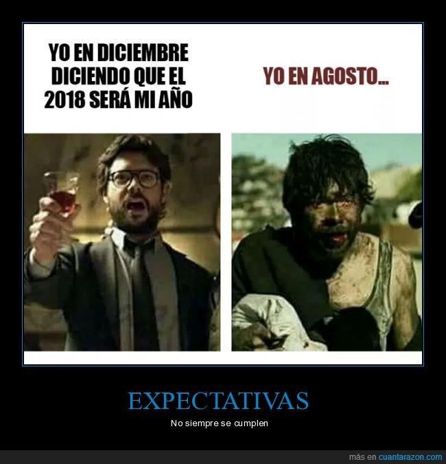 agosto,diciembre,expectativas,realidad