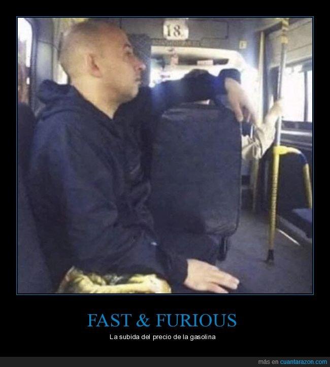autobús,fast & furious,gasolina,parecidos,precio,vin diesel