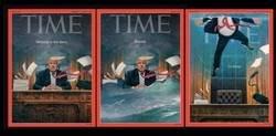 Enlace a Las portadas que la revista Time ha dedicado a Donald Trump