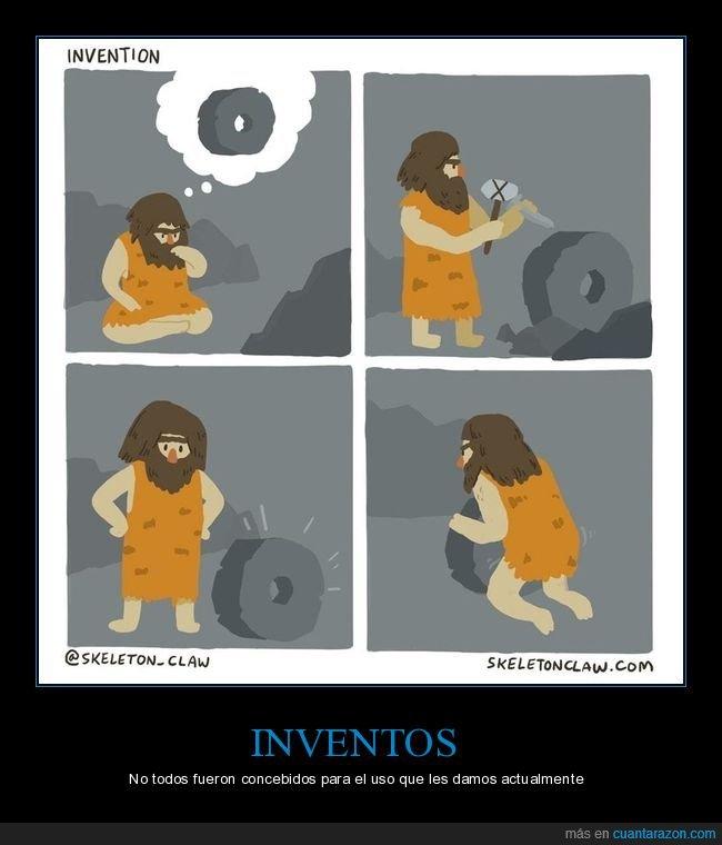 agujero,invento,rueda