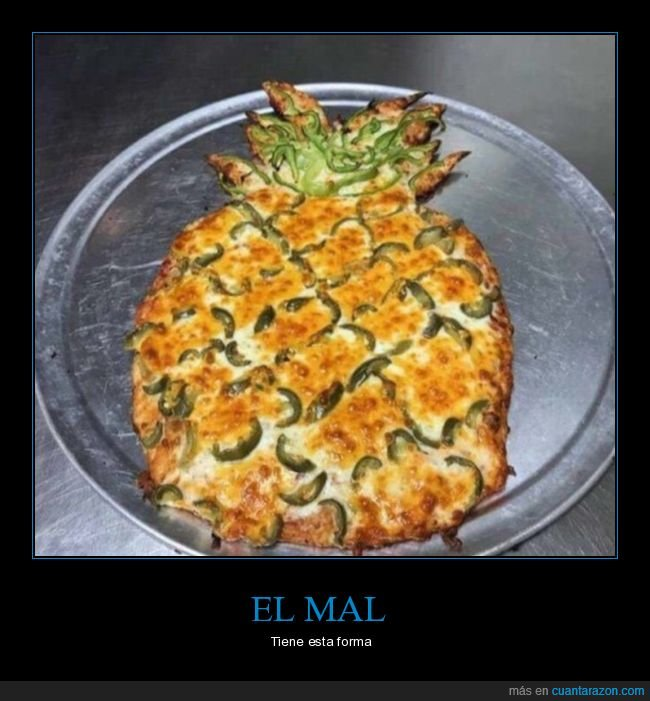 piña,pizza,wtf