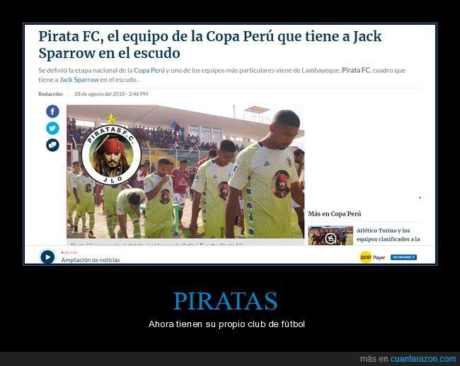fútbol,jack sparrow,pirata