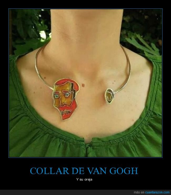 collar,oreja,van gogh