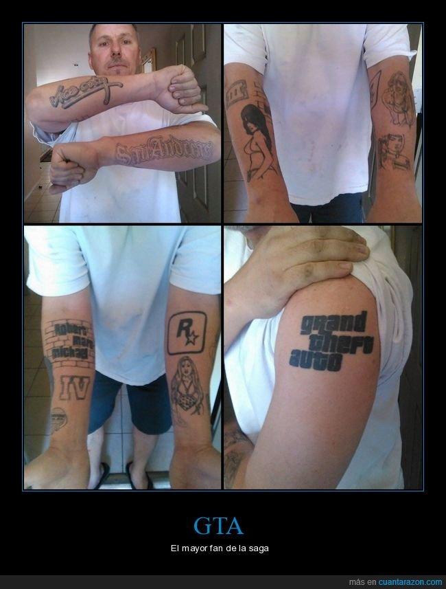 fan,gta,tatuajes