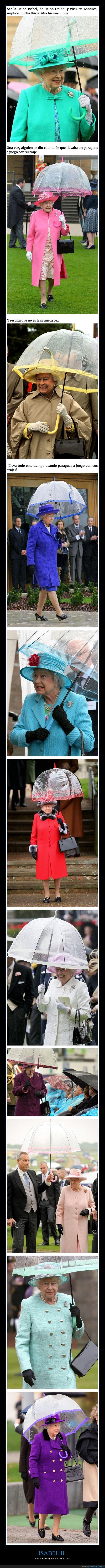 conjuntada,isabel ii,paraguas